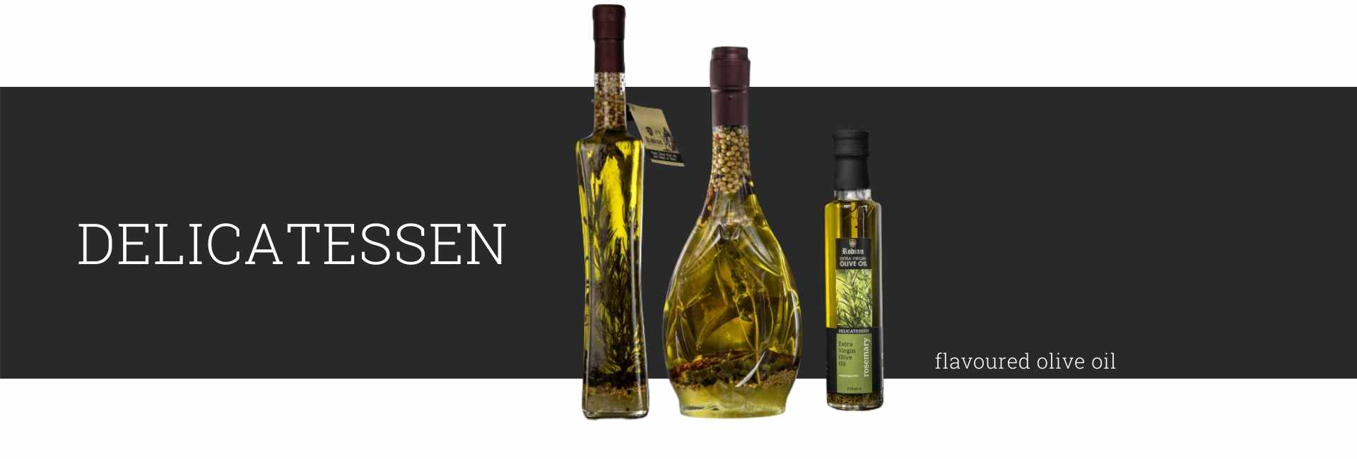 Buy Delicatessen Olive Oil with Flavours (Herbs & Spices)