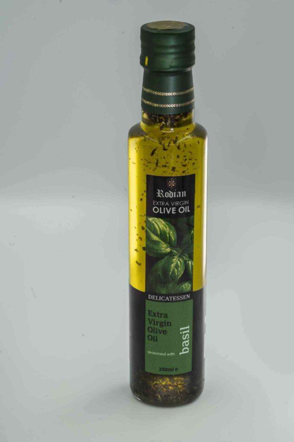 order greek flavoured olive oil - basil olive oil
