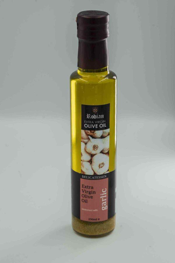 order greek flavoured olive oil - garlic olive oil