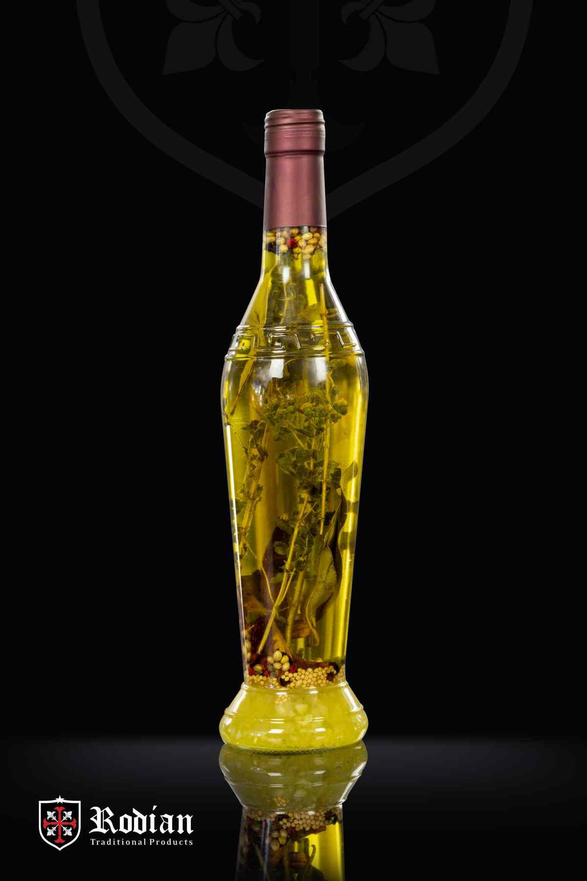order greek flavoured olive oil - amphora bottle