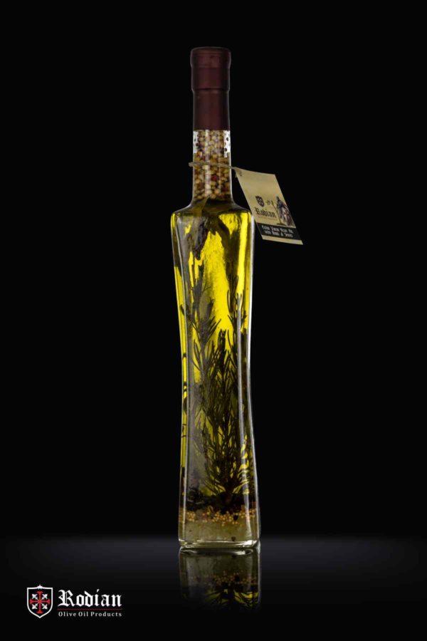 order greek flavoured olive oil - quattro bottle