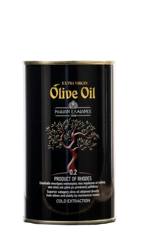 Superior Category Greek Extra Virgin Olive Oil EVOO from Rhodes island buy online
