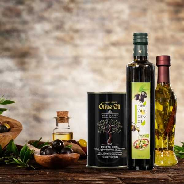 Traditional Greek EVOO - Extra Virgin Olive Oil - Rodian Olive Oil Products- Top Quality Olive Oil
