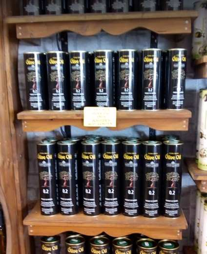 Greek EXTRA VIRGIN OLIVE OIL from Rhodes